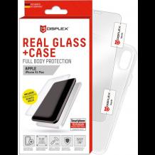 Displex - Real Glass 0,33mm + Case - Apple iPhone Xr- Screen glass Protectors-1