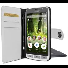 Doro Liberto 825 Smart magnetisk wallet cover Hvid-1