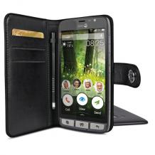 Doro Liberto 825 Smart magnetisk wallet cover Sort-1