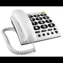 Doro PhoneEasy 311c fastnet bordtelefon med store taster Hvid-1