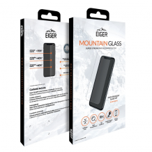 Eiger Mountain GLASS (panserglas) til Apple iPhone X/XS - Gennemsigtig-1