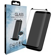 Eigerglass 3D Full Fit Sikkerhedsglas Samsung Galaxy S8+ Plus Clear/Sort (Cover kompatibelt)-1