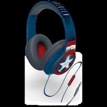 eKids Captain America Over-Ear headphone with mic.-1