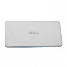 eloop - Portable Charger / Power Bank - Micro-USB - White - 13000mAh-1