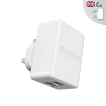 Energizer Hightech Wall Charger (w/o Cable) 2.4amp white-1