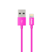 Energizer Lightning cable round 1,2m pink-1