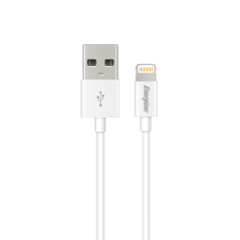 Energizer Lightning cable round 1,2m white-1