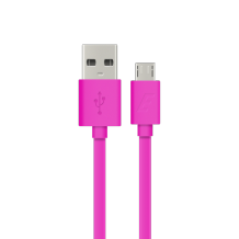 Energizer Micro USB cable flat 1,2m pink-1