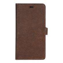 Essentials 2-i-1 Leather Wallet i ægte læder til Apple iPhone XR - Brun-1