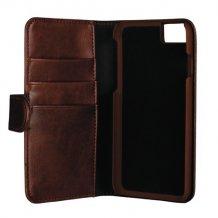 Essentials 2-i-1 Wallet Case til Apple iPhone 6/6S/7/8 - Brun-1