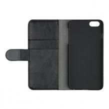 Essentials Booklet Cover til iPhone 7 / 6 / 6S Plus w/card slot Black-1