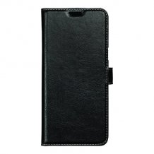 Essentials Leather Wallet i ægte læder til Samsung Galaxy S8+ - Sort-1