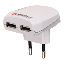 Euro USB Charger, 2,4A-1