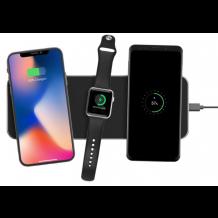 Exelium XPAD 3.1 - Multicharger 3 in 1 Wireless, Black-1