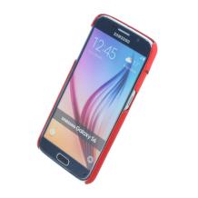 Ferrari - Fiorano Collection - Leather Hard Cover/Case - Samsung G920F Galaxy S6 - Red-1