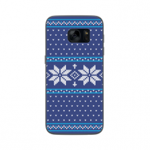 FLAVR Case Ugly Xmas Sweater for Galaxy S7 blue-1