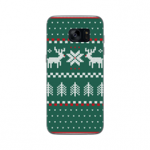 FLAVR Case Ugly Xmas Sweater for Galaxy S7 Edge green-1