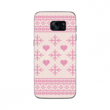 FLAVR Case Ugly Xmas Sweater for Galaxy S7 Edge pink-1