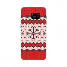 FLAVR Case Ugly Xmas Sweater for Galaxy S7 Edge red-1