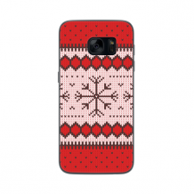 FLAVR Case Ugly Xmas Sweater for Galaxy S7 red-1