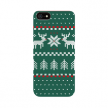 FLAVR Case Ugly Xmas Sweater for iPhone 5/5S/SE green-1