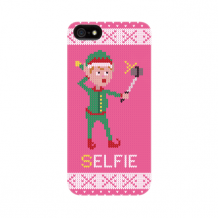 FLAVR Case Ugly Xmas Sweater Selfie Elfie for iPhone 5/5S/SE colourful-1