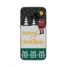 FLAVR Case Ugly Xmas Sweater Yellow Snow for Galaxy S7 colourful-1