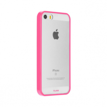 FLAVR Odet for iPhone 5/5S/SE clear/pink-1