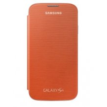 riginalt Samsung Galaxy S4 Flip Cover - Orange