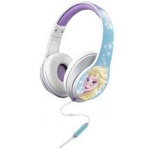 Disney Frost Hovedtelefoner Elsa Med Mikrofon Til Børn Fra 9 år