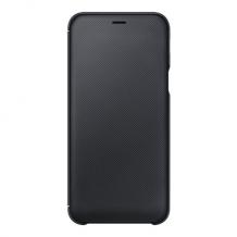 Galaxy A6, Wallet, Black-1