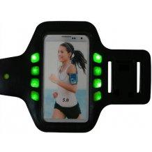 GEAR Sport Armbånd med LED lys Størrelse XL