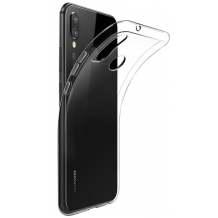 Gennemsigtigt Cover Til Huawei P20 Lite, Ultra Thin Silikone-1