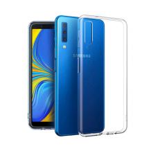 Gennemsigtigt Cover Til Samsung Galaxy A7 (2018), Ultra Thin Silikone-1