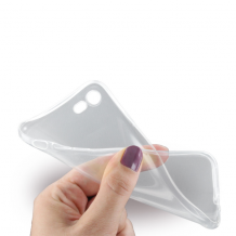 Gennemsigtigt iPhone 7/8 Cover, Ultra Thin Silikone-1
