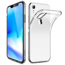 Gennemsigtigt iPhone XR Cover, Ultra Thin Silikone-1