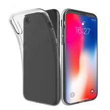 Gennemsigtigt Silikone Cover til iPhone XS Max (den store model)-1