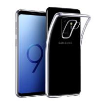 Gennemsigtigt Silikone Cover til Samsung Galaxy S9+ (Plus)-1