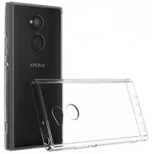 Gennemsigtigt Sony Xperia XA2 Cover, Ultra Thin Silikone-1