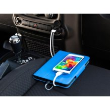 Griffin MFI (Made for iPhone) - GC39941-2 Dual USB Car Chargert  - 2.4 Amper - Apple iPhone 5, 5s, 5c, 6, 6s, 7, 8, 6 Plus, 7 Plus, 8 Plus, X, Xs, Xr, Xs Max - Schwarz-1