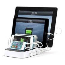 Griffin PowerDock 5, oplader til 5 telefoner / tablets