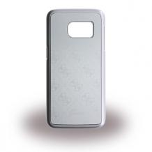 Guess - 4G Metallic GUHCS7MESI - Hard Cover / Hard Case - Samsung G930 Galaxy S7 - Silver-1
