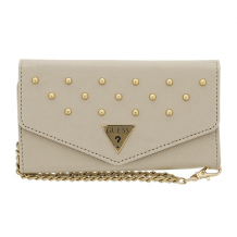 Guess – Studded Collection – Clutch/ Mobile Phone Case/ Handbag - HTC One M8, One M8+ – Cream-1