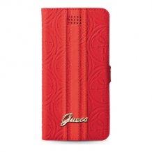 """Guess Universal Heritage Booklet Cover L til, 4.6"""" - 5.2"""" skærme - Rød-1"""