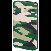 Hama Booklet Flipcover til iPhone 6 / 6S Camouflage Grøn-1