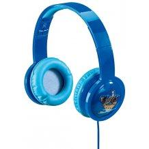 Hama Hovedtelefon med lys og lav lyd til børn 4-7 år Blå