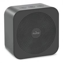 Handy genopladelig Bluetooth-højttaler V 4.2, grå-1