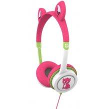 iFrogz Little Rockerz høretelefoner med lav lyd til børn fra 4 år Kattekilling