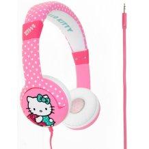 Hello Kitty Polka Dot Junior Høretelefoner til børn 3-7 år