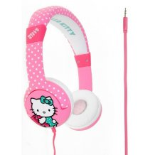 Hello Kitty Hovedtelefon On-Ear Junior Rosa til børn fra 7 år